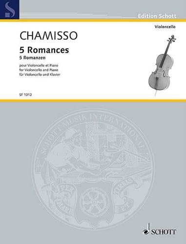 5 Romances - Violoncelle et piano - laflutedepan.com