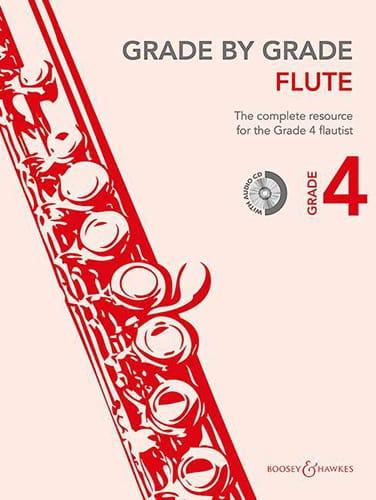 Grade by Grade Flute - Volume 4 - Partition - laflutedepan.com