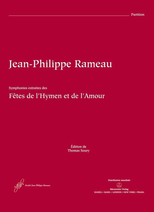 Symphonies extraites des Fêtes de l'Hymen et de l' Amour - laflutedepan.com