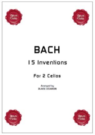 15 inventions pour 2 cellos - BACH - Partition - laflutedepan.com