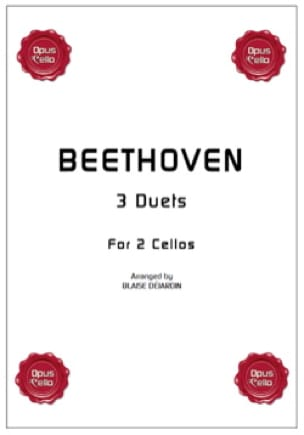 3 duets for 2 cellos - BEETHOVEN - Partition - laflutedepan.com