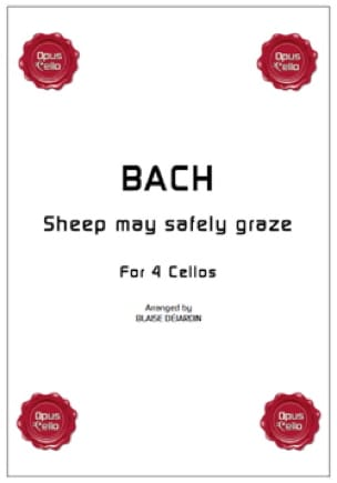 Sheep may safely graze - BACH - Partition - laflutedepan.com
