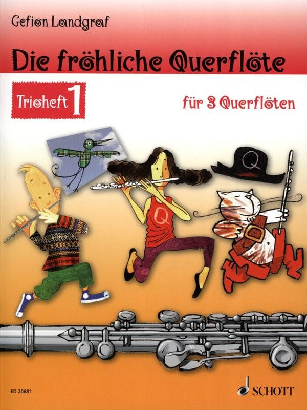 Die fröhliche Querflöte Trio Heft 1 - Partition - laflutedepan.com