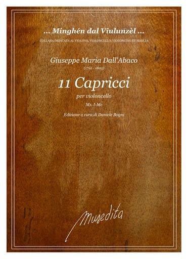 11 Capricci - Abaco Giuseppe Maria Dall' - laflutedepan.com