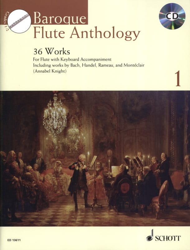 Baroque Flute Anthology Volume 1 - Partition - laflutedepan.com
