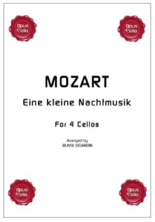 MOZART - Eine kleine Nachtmusik - 4 Violoncelles - Partition - di-arezzo.fr