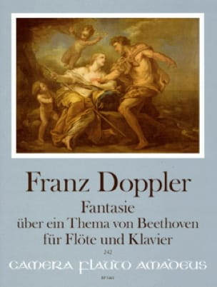 Franz Doppler - Fantasy on a theme of Beethoven - Flute and piano - Partition - di-arezzo.co.uk
