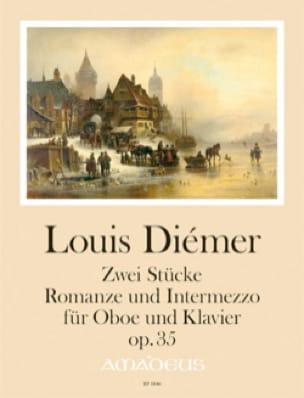 2 Pièces, op. 35 - Hautbois et piano - Louis Diémer - laflutedepan.com