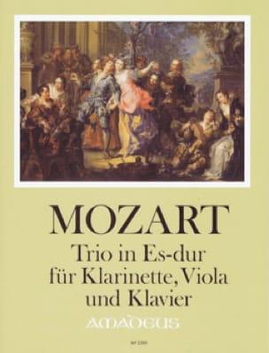 MOZART - Bowling Trio Kv 498 - Clarinet, Viola and Piano - Partition - di-arezzo.co.uk