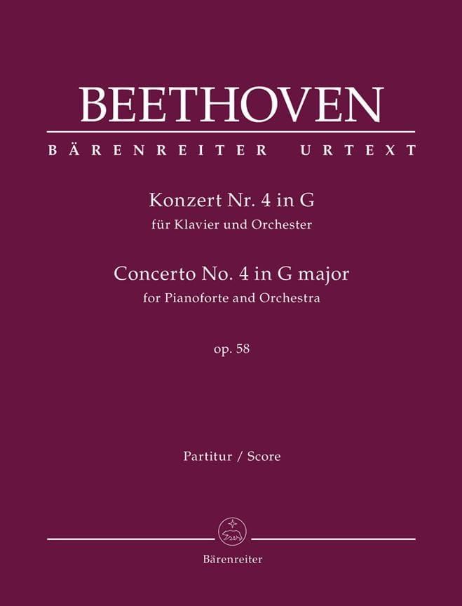 Concerto pour piano n° 4 en Sol Majeur, op. 58 - laflutedepan.com
