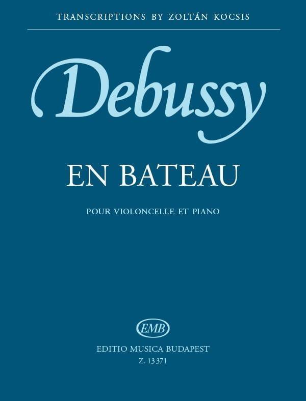 En bateau - DEBUSSY - Partition - Violoncelle - laflutedepan.com