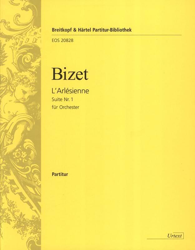 BIZET - L'Arlésienne, Suite n ° 1 - Partition - di-arezzo.com