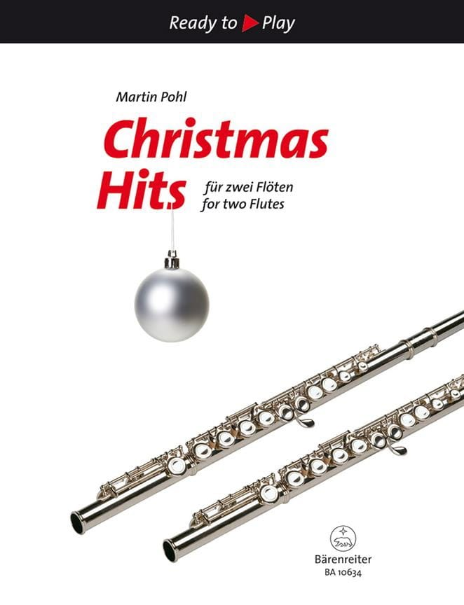 Christmas Hits - 2 Flûtes - Martin Pohl-Hesse - laflutedepan.com