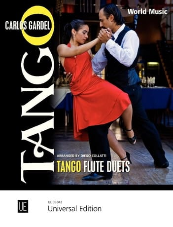 Tango Flute Duets - Carlos Gardel - Partition - laflutedepan.com