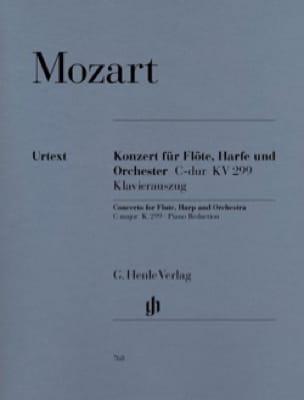 MOZART - Concerto in C Major, Kv 299 - Flute, Harp and Piano - Partition - di-arezzo.co.uk
