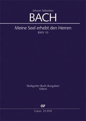 Meine Seel erhebt den Herren, BWV 10 - BACH - laflutedepan.com