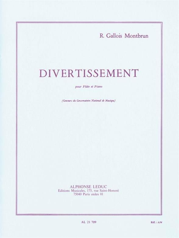 Divertissement - Flûte et piano - laflutedepan.com