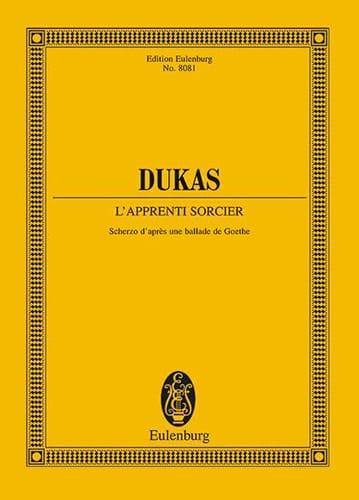 Paul Dukas - the Sorcerer Apprentice - Driver - Partition - di-arezzo.co.uk