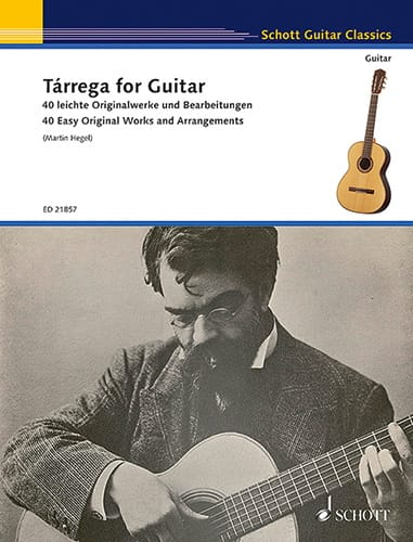 Francisco Tarrega - Tarrega for Guitar - Guitar - Partition - di-arezzo.com
