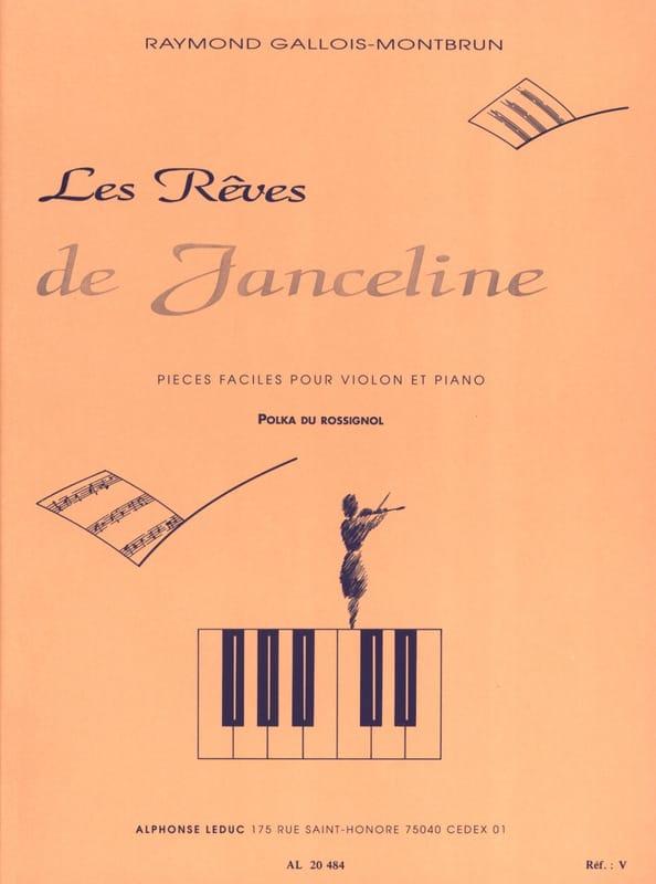 Polka du Rossignol - Raymond GALLOIS-MONTBRUN - laflutedepan.com