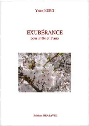 Exubérance - Yoko Kubo - Partition - laflutedepan.com