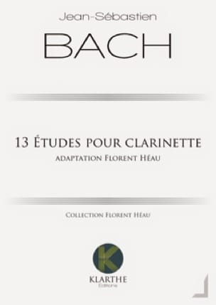 BACH - 13 studies for clarinet - Partition - di-arezzo.co.uk