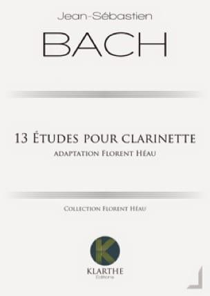 BACH - 13 études pour clarinette - Partition - di-arezzo.fr