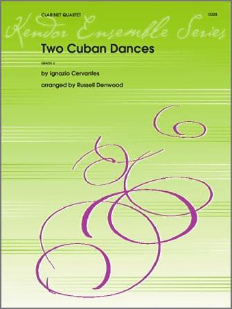 Two Cuban Dances - Ignacio Cervantes - Partition - laflutedepan.com