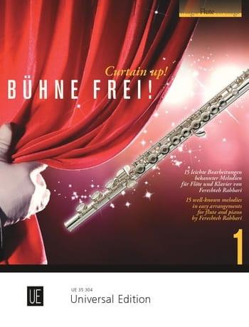 Bühne frei! - Curtain up! - Vol. 1 - Partition - laflutedepan.com
