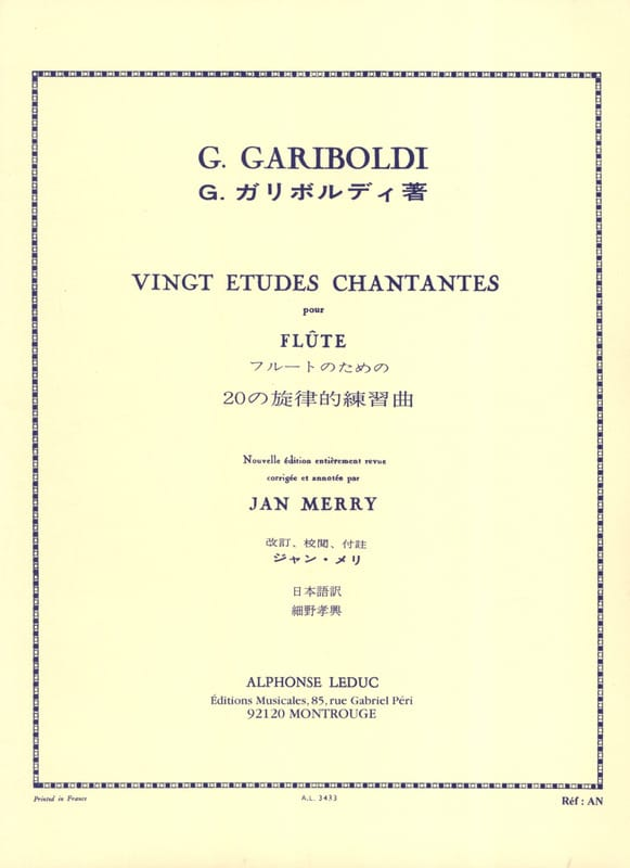 Giuseppe Gariboldi - 20 Singing studies op. 88 - Partition - di-arezzo.co.uk