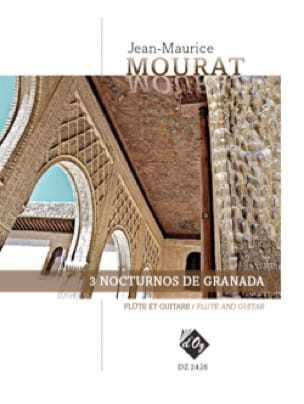 Jean-Maurice Mourat - 3 Nocturnes of Granada - Partition - di-arezzo.co.uk