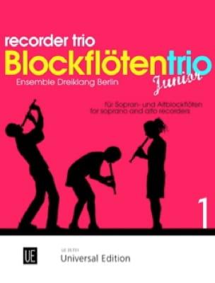 Blockflötentrio Junior - Vol. 1 - Partition - laflutedepan.com