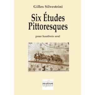 Gilles Silvestrini - 6 Picturesque Studies - Partition - di-arezzo.com