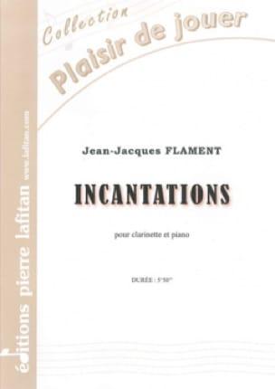 Incantations - Jean-Jacques Flament - Partition - laflutedepan.com