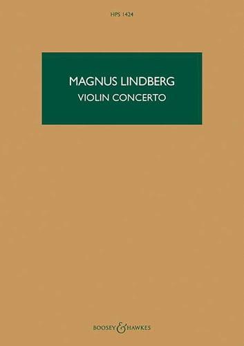 Concerto pour violon - Conducteur - Magnus Lindberg - laflutedepan.com