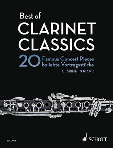 Best of Clarinet Classics - Clarinette et piano - laflutedepan.com