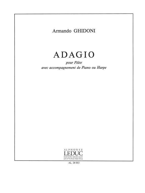 Armando Ghidoni - adagio - Partition - di-arezzo.es