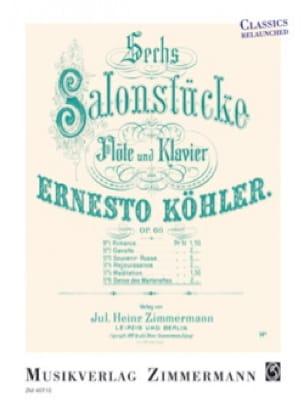 Danse des Marionettes, op. 60 n° 6 - Flûte et piano - laflutedepan.com