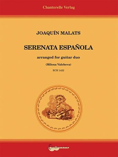 Serenata Espanola - 2 Guitares - Joaquin Malats - laflutedepan.com