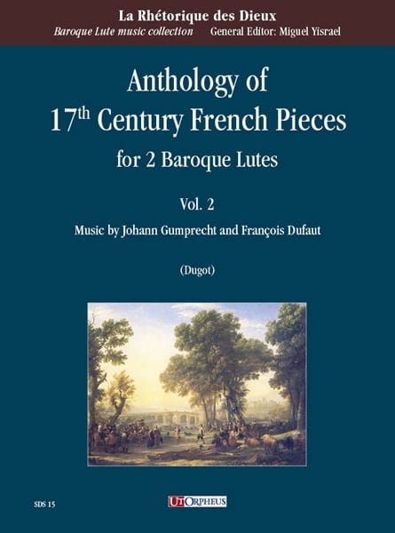 Anthology of 17th Century French Pieces vol. 2 - 2 Luths - laflutedepan.com
