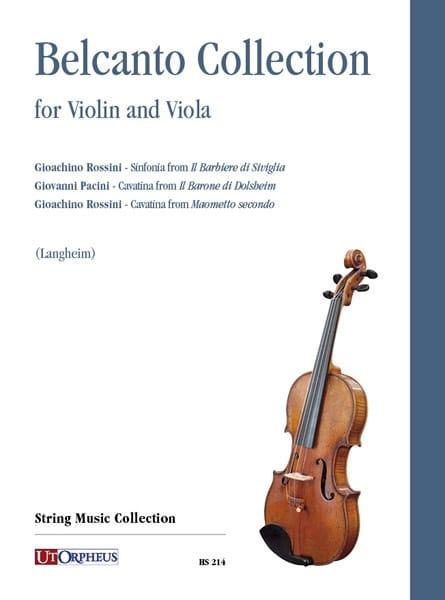 Bel Canto Collection - Violon et alto - laflutedepan.com