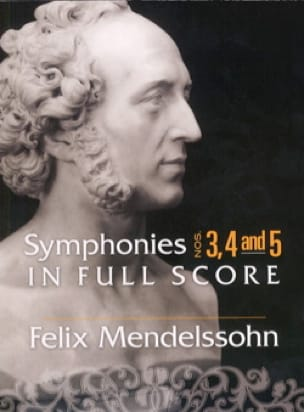 MENDELSSOHN - Symphonies 3, 4 and 5 - Conductor - Partition - di-arezzo.co.uk