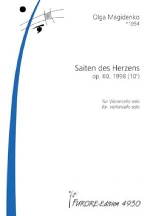 Saiten des Herzens, op. 60 - Violoncelle solo - laflutedepan.com