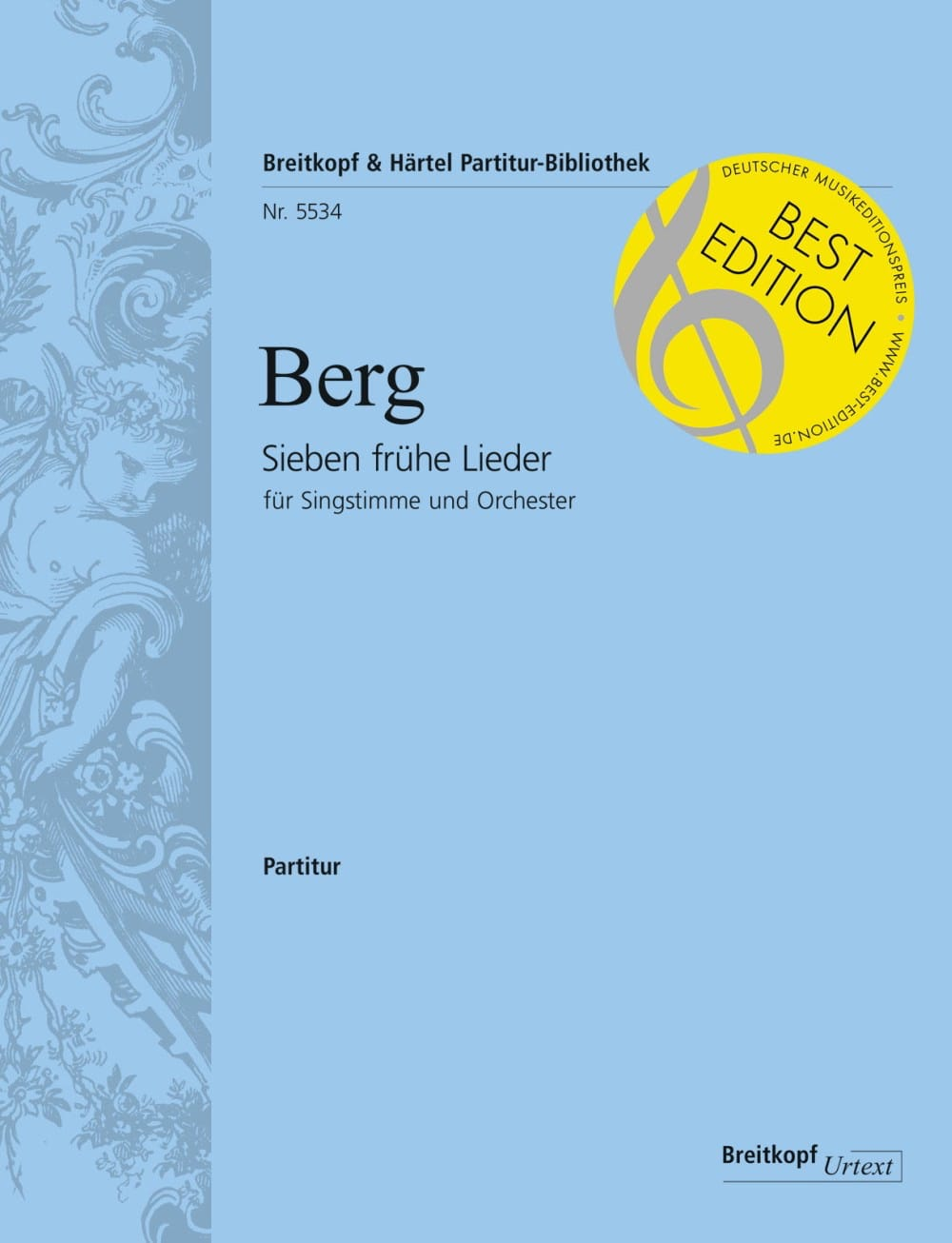 Alban Berg - Sieben Frühe Lieder - Driver - Partition - di-arezzo.co.uk