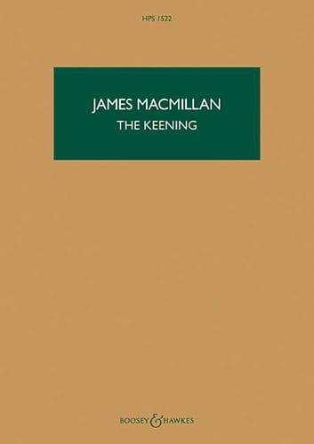 The Keening - Conducteur - James MacMillan - laflutedepan.com