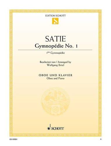 Gymnopédie n° 1 - Hautbois et piano - SATIE - laflutedepan.com