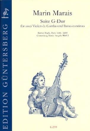 Suite en Sol Majeur - 2 Violes de gambe et Basse continue - laflutedepan.com