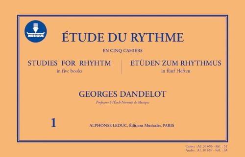 Étude du Rythme Volume 1 - AVEC CARTE DE TÉLÉCHARGEMENT - laflutedepan.com