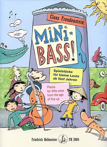 Mini Bass ! - Claus Freudenstein - Partition - laflutedepan.com