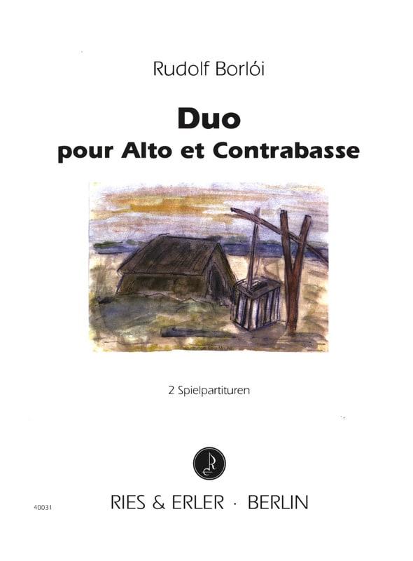 Duo - Alto et Contrebasse - Rudolf Borloi - laflutedepan.com